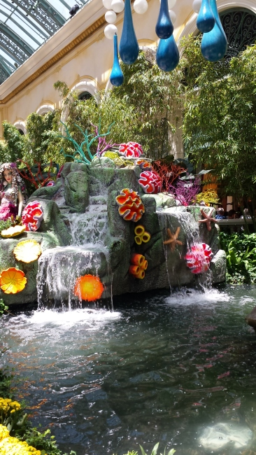 Waterfall at the Bellagio